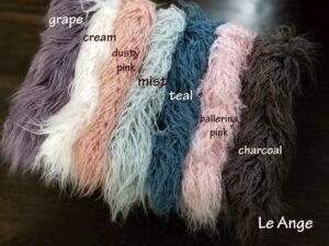 Faux Fur Fabrics LeAnge on Etsy