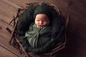 Evergreen Newborn Stretch Wrap SewTrendyAccessories on Etsy