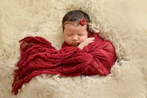 Newborn Burgundy Red Cheesecloth Wrap BeautifulPhotoProps on Etsy