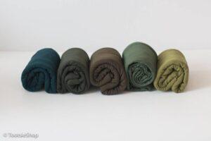 Newborn Green Knit Jersey Knit Wrap TootsieShop on Etsy