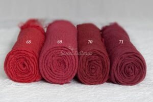 Newborn Red Cheesecloth Wrap SweetLullapie on Etsy