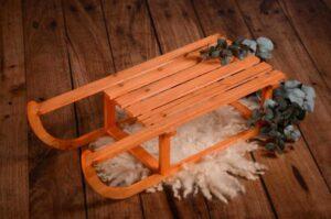 Newborn Wooden Sled NewbornStudioProps on Etsy