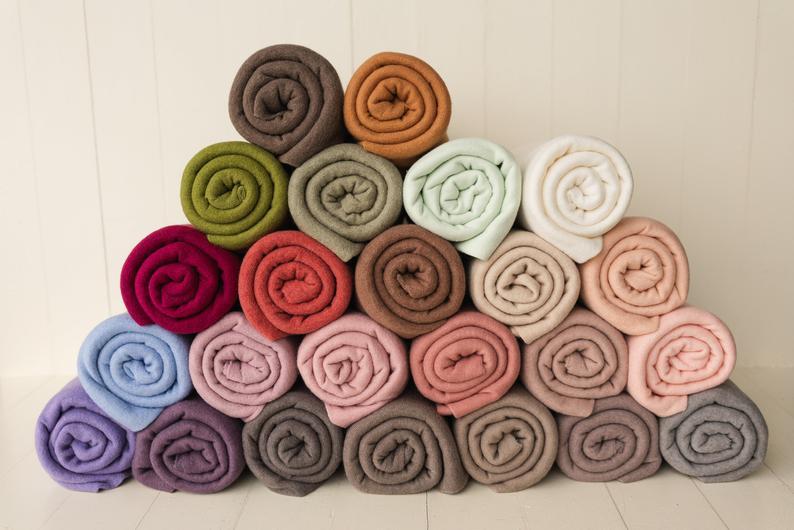 Angora Fabric Wraps Propsly on Etsy
