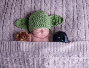 Yoda Star Wars Newborn Hat KnotYourAverageMama on Etsy